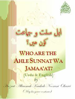 Who are the ahle sunnat wa jamaat