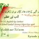 Adab aur Tazeem 3