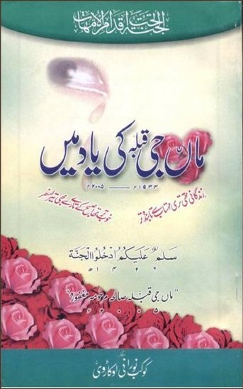 MAA JEE - URDU KNO book cover
